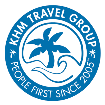 KHM Travel Group Logo - Click to go Home