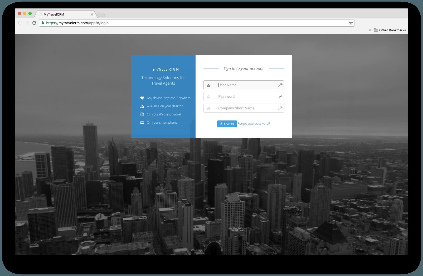 travel-agent-portal