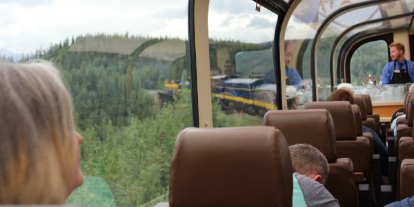 In Alaska, the journey is as rewarding as the destination, especially via train.