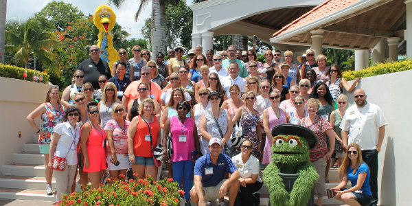 We were joined by some real characters during our site inspection at Beaches Ocho Rios Resort