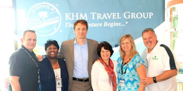 Our Executive staff with the Norwegian Cruise Line Sales Team. We can't thank NCL enough for hosting us!
