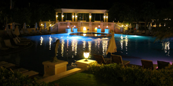 Sandals Ochi is almost as gorgeous at night!