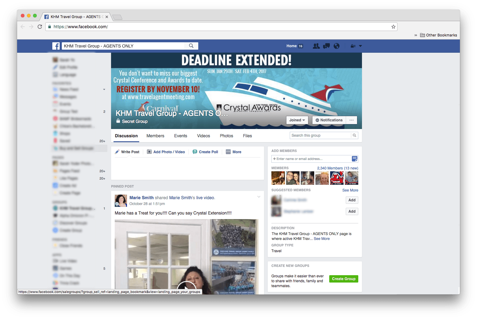 travel-agent-facebook