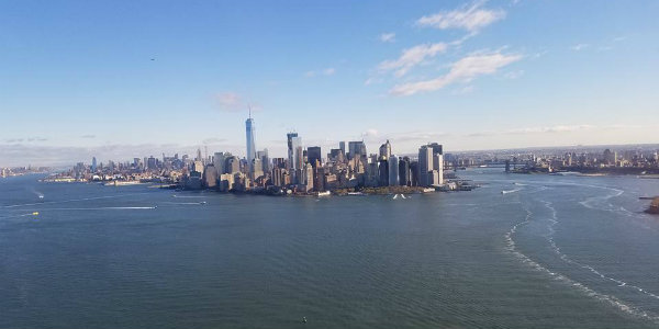 A simply stunning view of Manhattan.