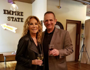 Rick had a few celebrity encounters during his trip, including meeting Kathy Lee Gifford!