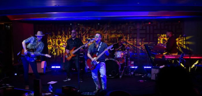 Rolling Stone Staged Band Music Holland America Line