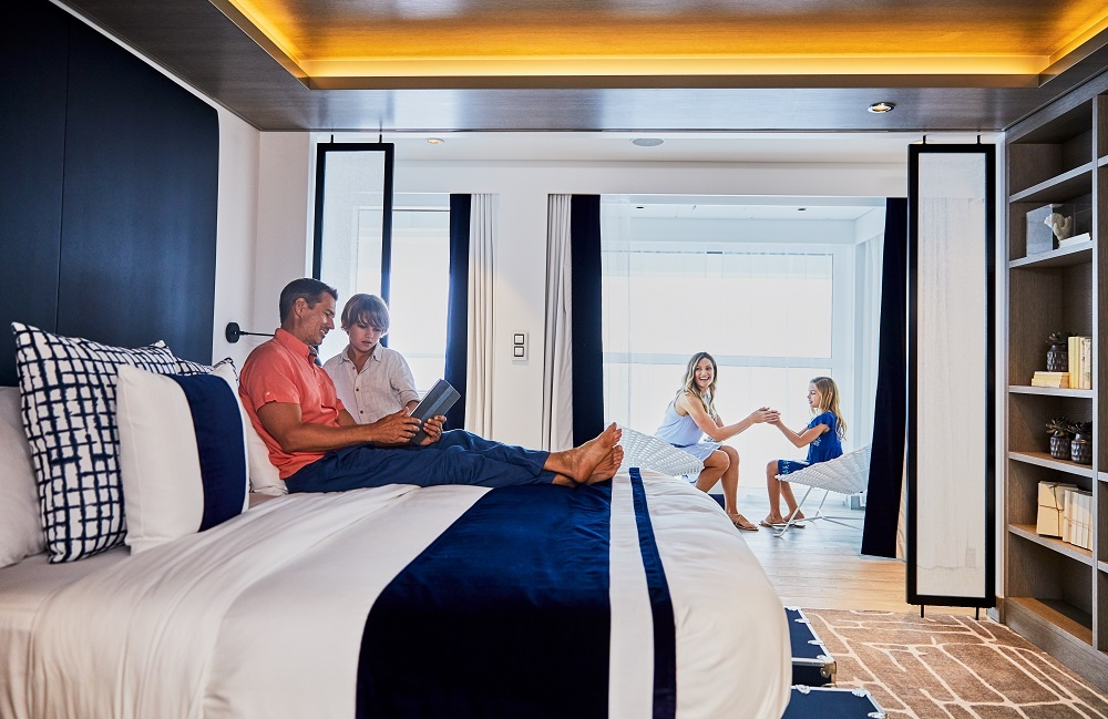 Family Celebrity Cruises Apex Infinite Veranda Stateroom