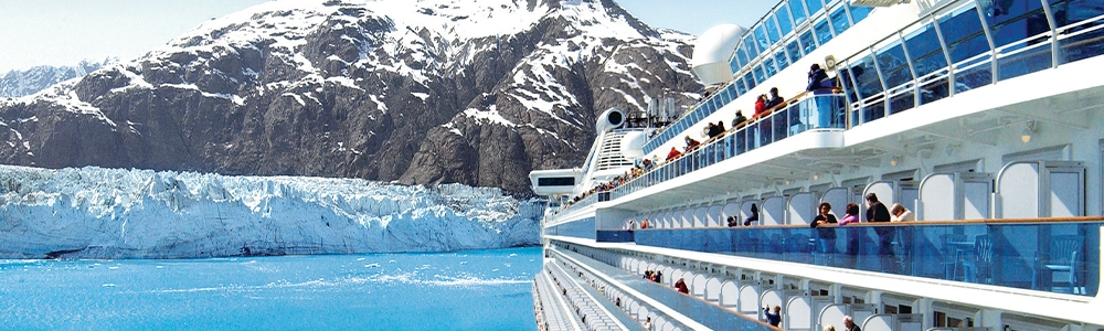 Princess Cruise Alaska Glacier