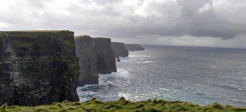 Cliffs Of Moher Wild Atlantic Way Ireland Galway Doolin