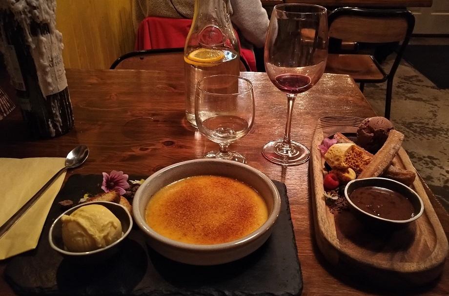 Dessert Cava Bodega Galway Restaurant Ireland