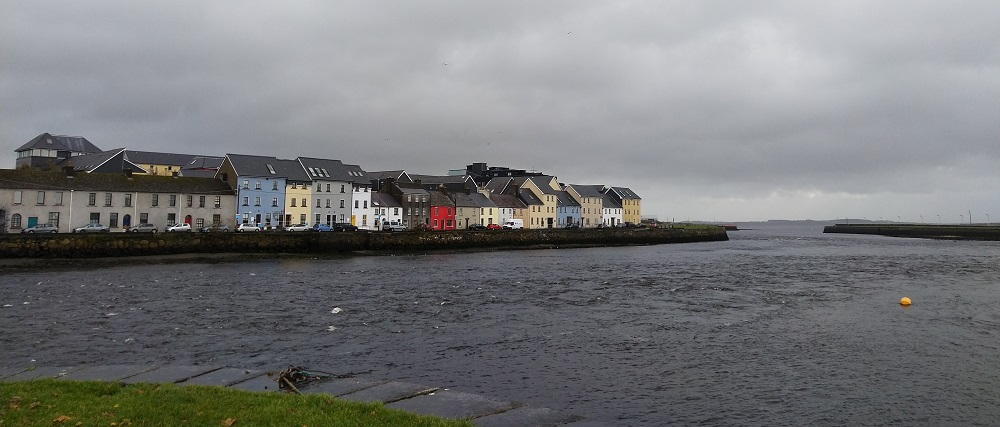 Galway Bay Ireland Houses Ocean