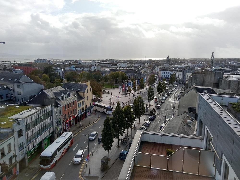 Galway Street Buses Travel Scenery