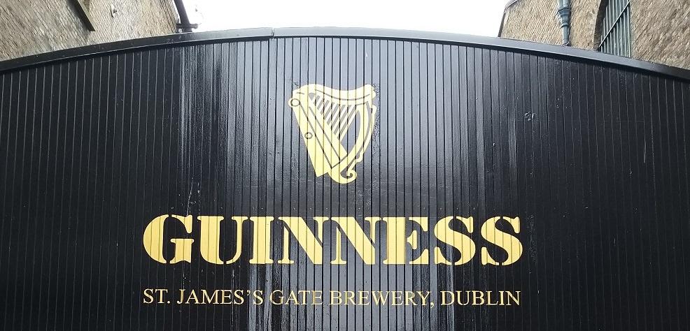 Guiness St.jamesgate Brewery Dublin