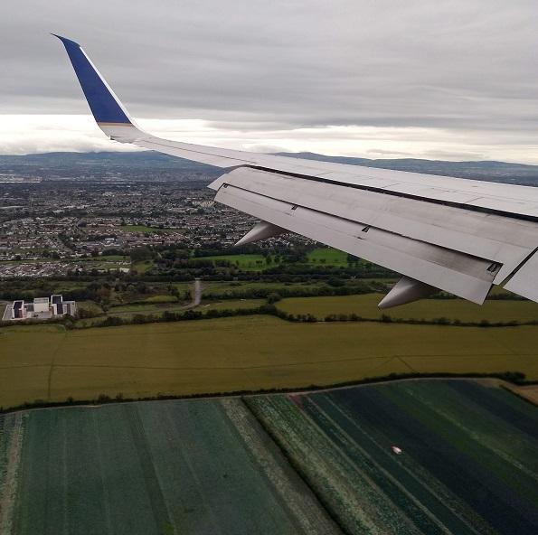 Ireland Airplane View Flying Travel
