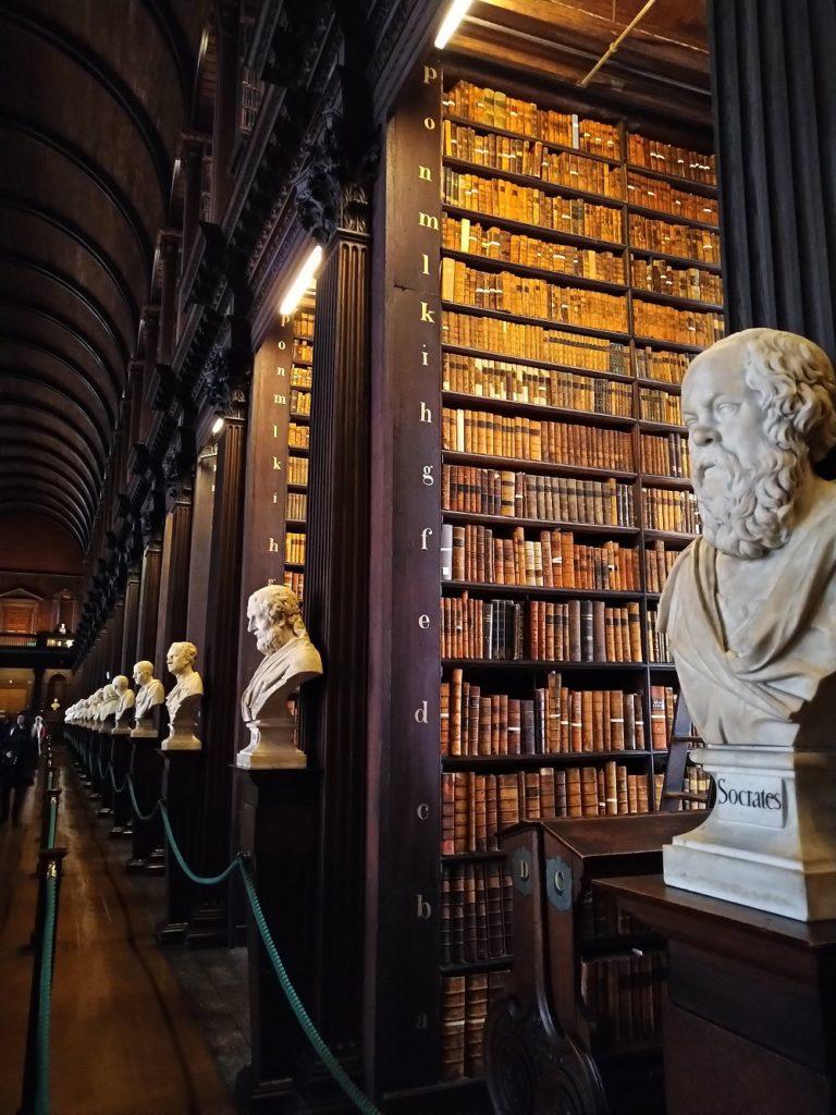 Trinity College Library Dublin Ireland