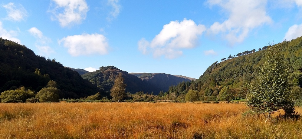 Wicklow Glendalough Dublin Ireland Scenery View 1