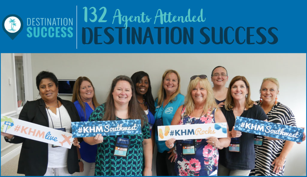 KHM Travel Group Event Destination Success Live Event