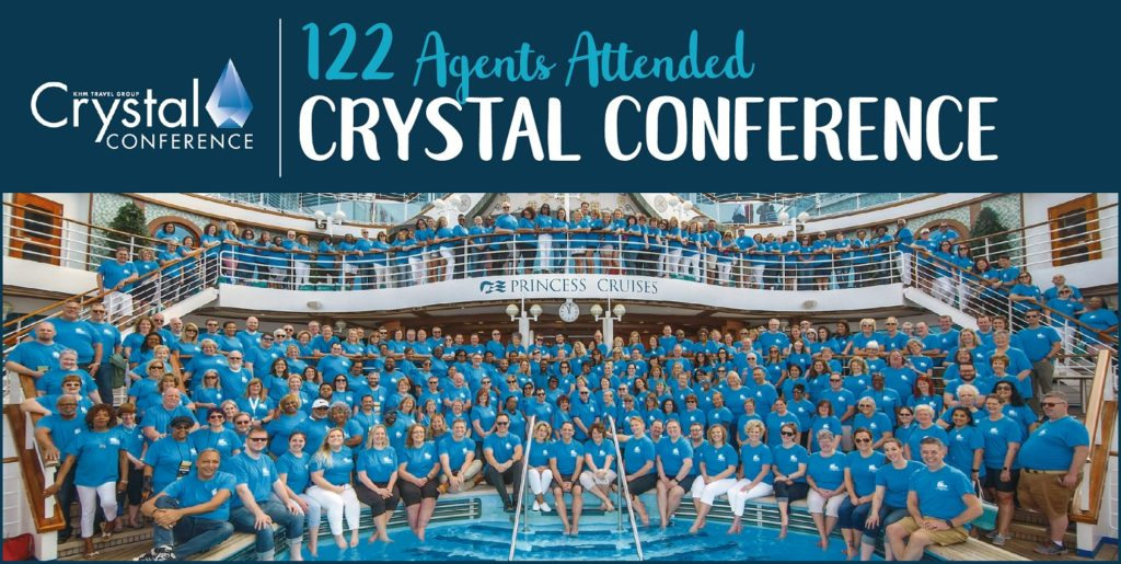 KHM Travel Group Event Crystal Conference 2019 Ruby Princess