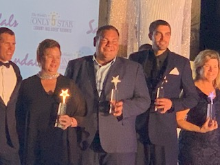 Ryan Trenn Sandals Beach STAR Awards 2019