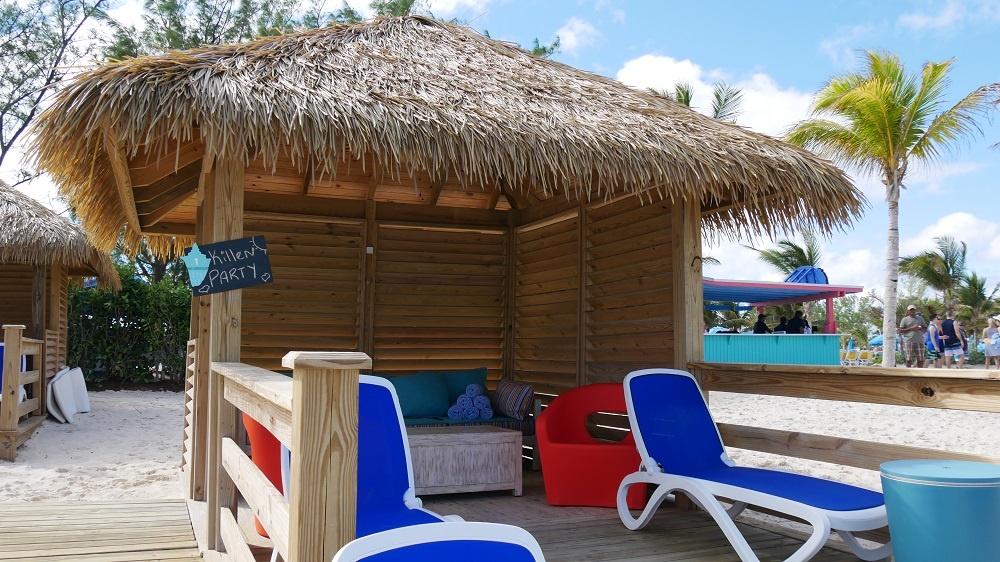 Cabana Chill Island Beach Bahamas Royal Caribbean Cococay Perfect Day