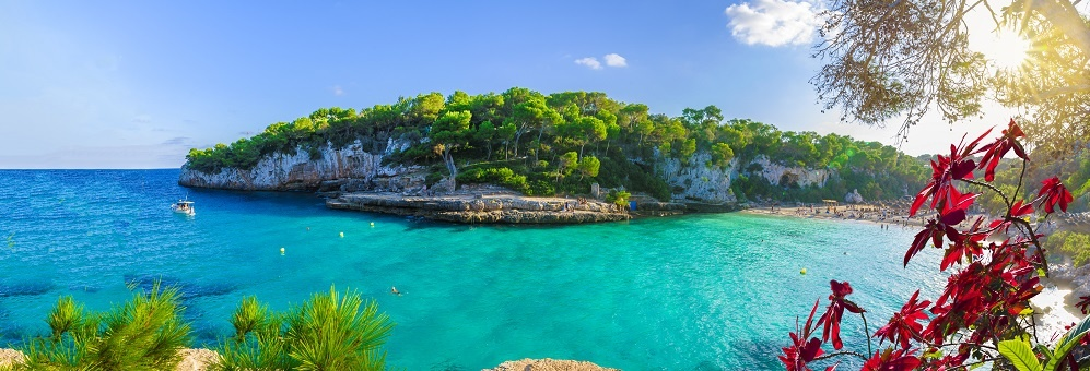 View Of Cala Llombards, Mallorca Island, Spain