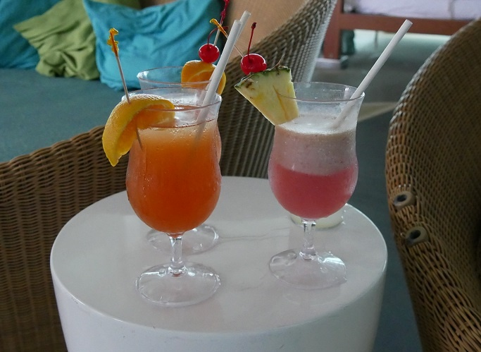 Drinks By The Pool Royal Caribbean