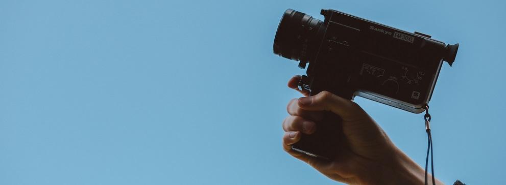 Video Content Filming Camera