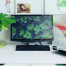 Home Office Desk Area Header