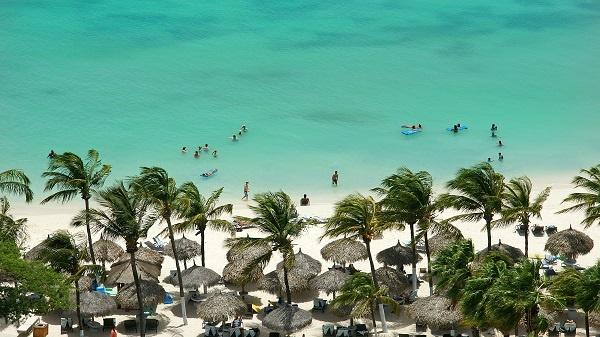 Aruba Beach Blue Waters Vacation