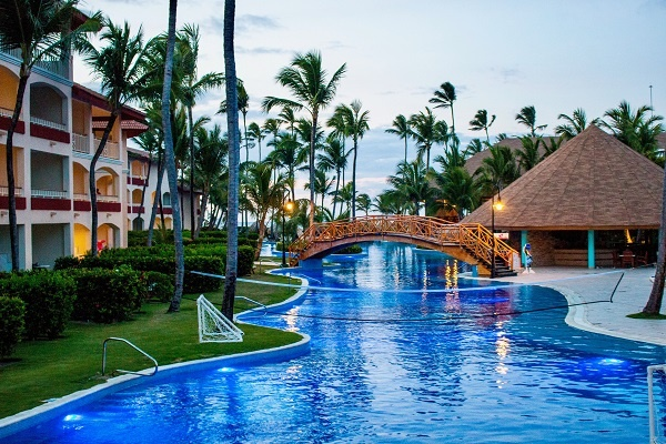 Domincan Republic Vacation Pool Caribbean Islands