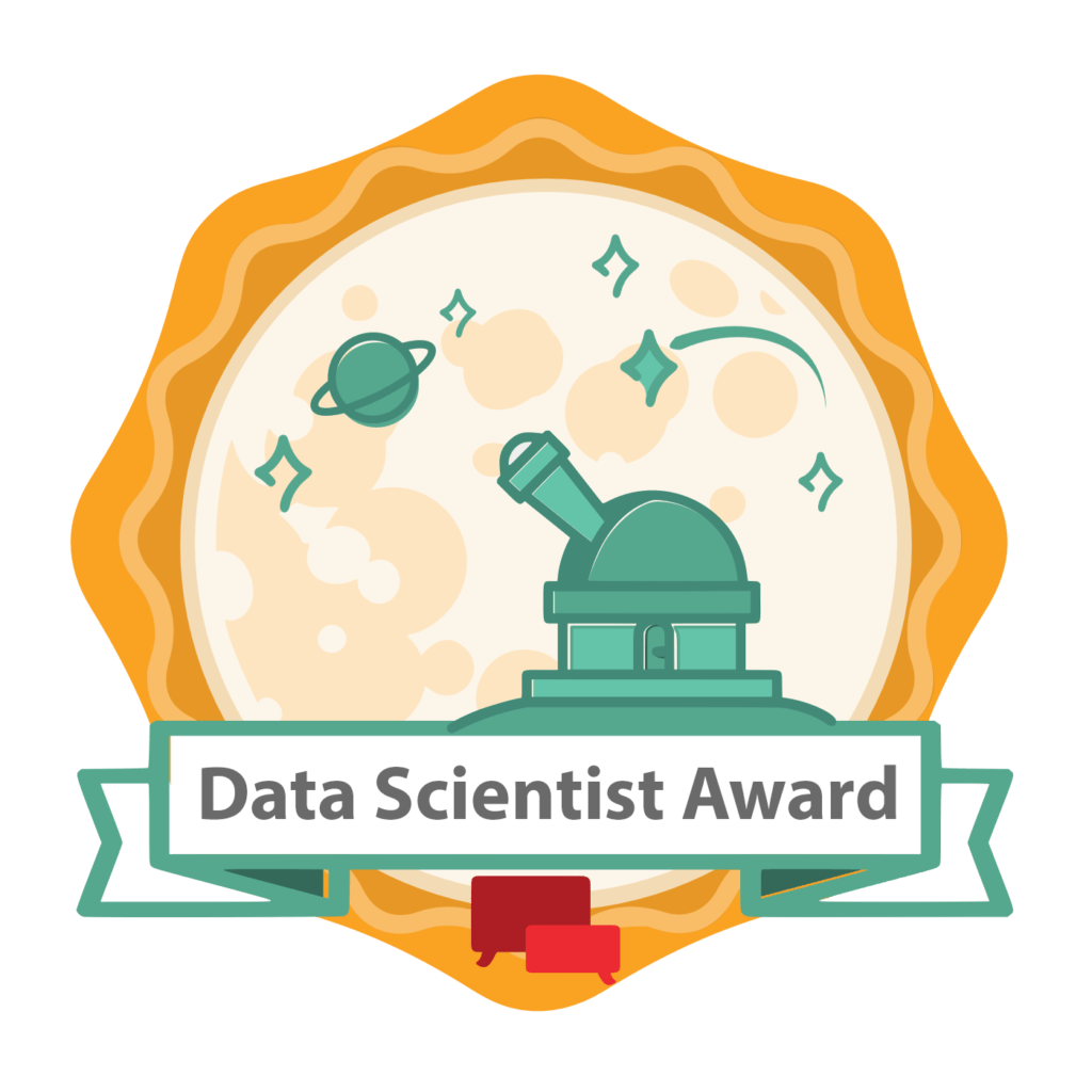 Badge Data Scientist Award
