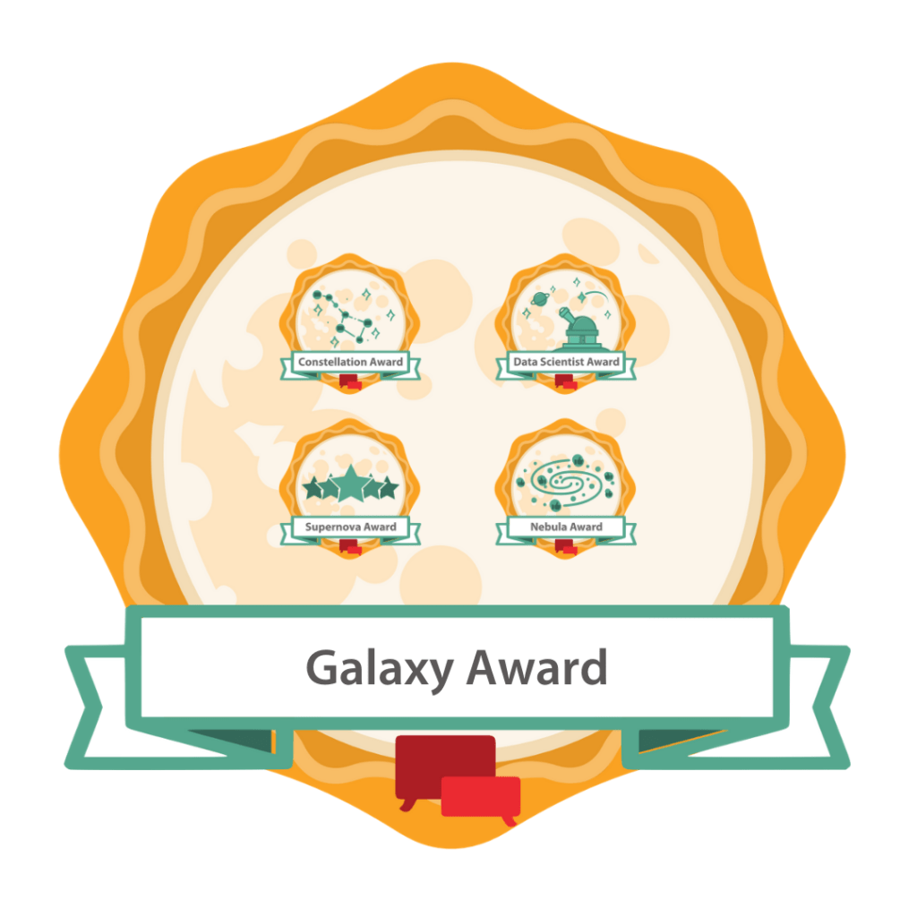 Galaxy Award Badge 2021 Luminary Awards