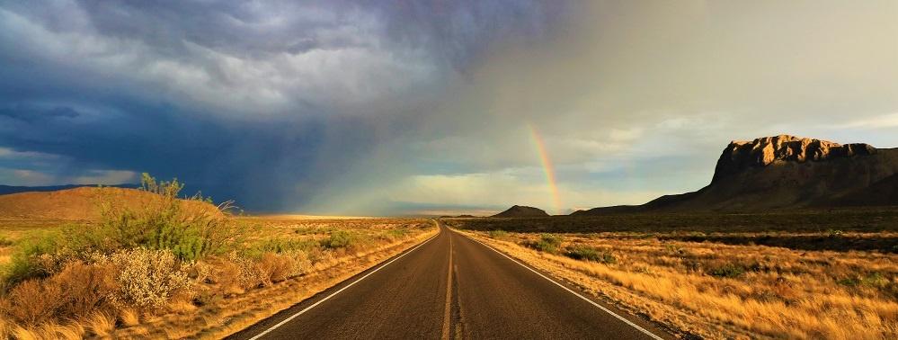 Road Trips Rainbow Highway
