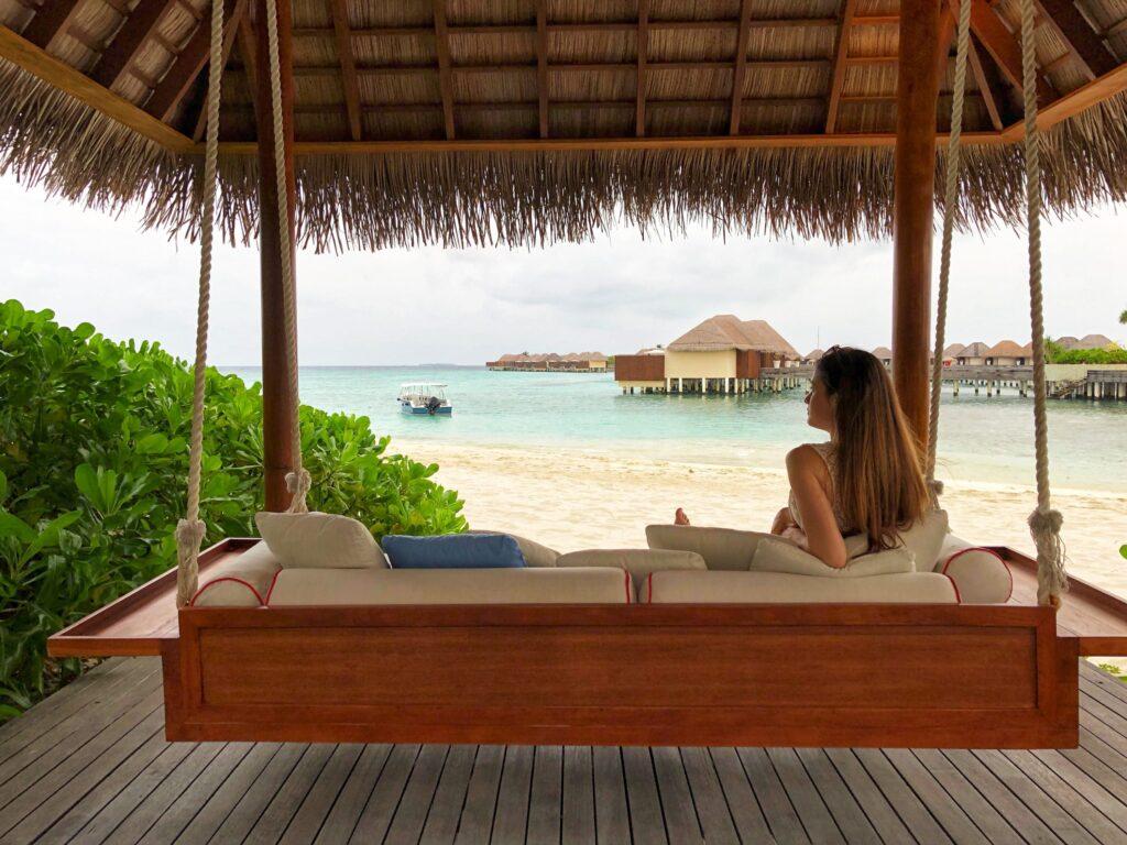 beach - resort - relax - sand - swing