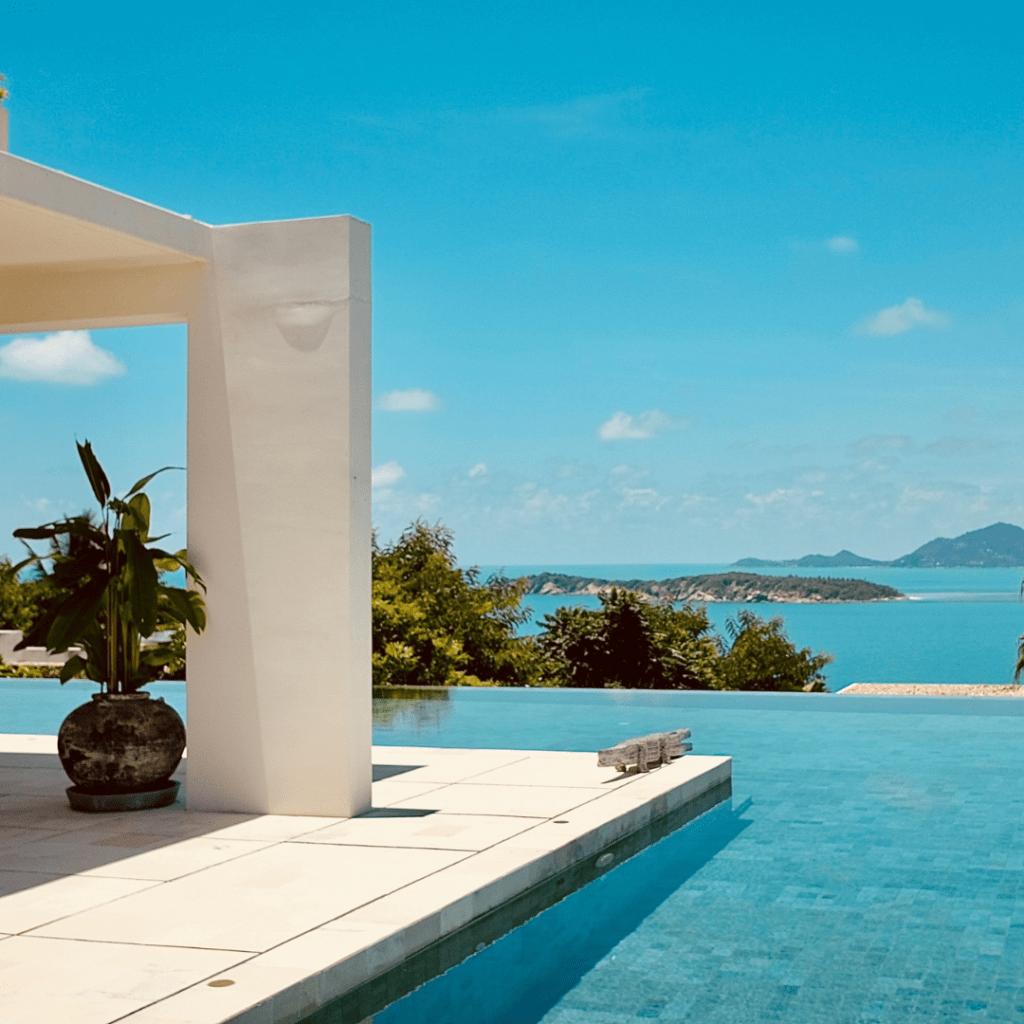Resort Pool Island