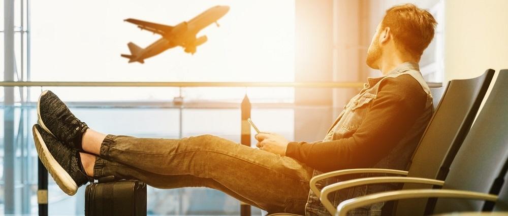 Traveler Suitcase Airplane