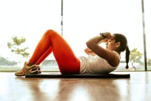 Woman Yoga Mat